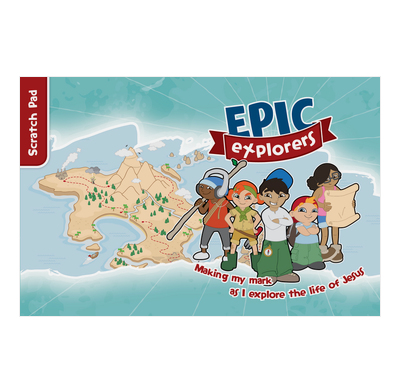 Epic Explorers Scratch Pad