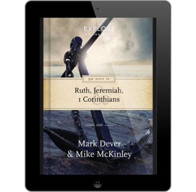 90 Days in Ruth, Jeremiah and 1 Corinthians (ebook)