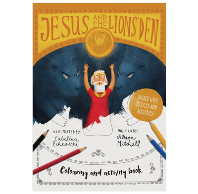 Jesus & the Lions' Den Coloring and Activity Book