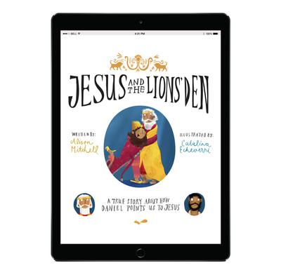 Download the full-size illustrations - Jesus and the Lions' Den